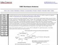 EWE Shortwave Antenna