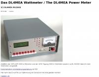 DL4MEA Wattmeter