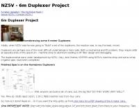 6m Duplexer project