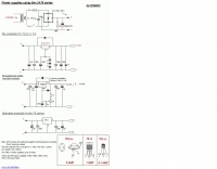 Power supplies with UA78