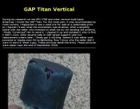 GAP Titan DX Repair