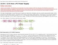 Convert a PC Power Supply