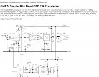 30m CW-Transceiver