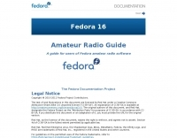 Fedora and Amateur Radio