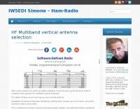 HF Multiband vertical antenna selection