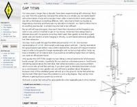 Gap Titan DX at DL8RDS