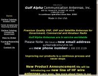 Gulf Alpha Communication Antennas