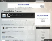 Chicago Live Police Scanner