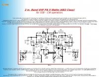 2 m. Band VHF PA 5 Watts