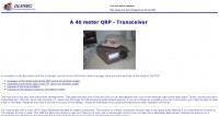 A 40 meter QRP  Transceiver