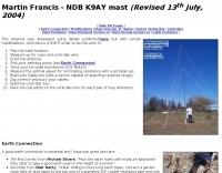 NDB K9AY mast