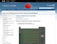 Amateur Radio Exam Generator