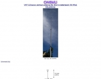 Vertical antenna for 50 MHz