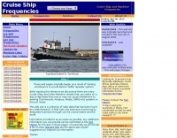 Cruise Ship and Maritime Monitoring Frequencies