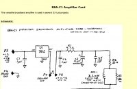 BBA-C1 Amplifier Card