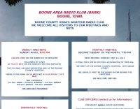 BARK Boone Amateur Radio Club