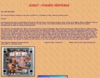 G3WZT Phased Verticals