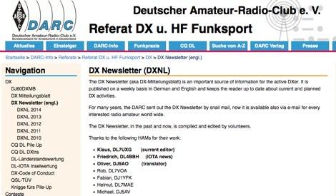DX Newsletter (DXNL)