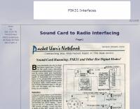 Sound Card to Radio Interfacing