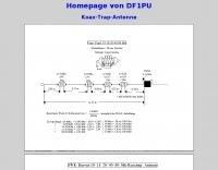 DF1PU Coax Trap Antenna