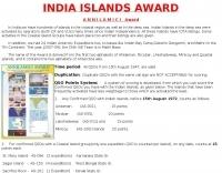 India Islands Award