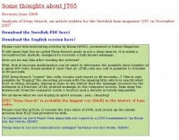 Some thoughts about JT65