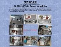 50 MHz GS35b Power Amplifier