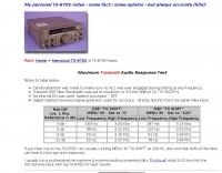 W2XC - Kenwood TS-870S Notes