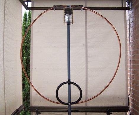 EA4FRB Magnetic Loop