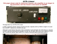 400W VHF Linear