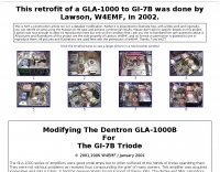 Retrofit of a GLA-1000 to GI-7B