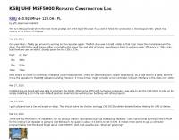 K6BJ UHF Repeater Construction Log
