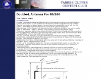 Double-L Antenna For 80 and 160