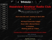 WB7QIW Hoodview Amateur Radio Club