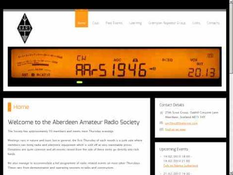 GM3BAQ Aberdeen Amateur Radio Society