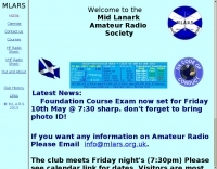 GM0B Mid Lanark Amateur Radio  Society
