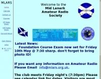 Mid Lanark Amateur Radio Society
