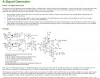 A Homemade Signal Generator