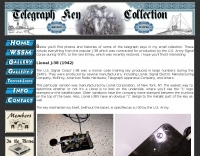 Telegraph Key Collection of Tim Watson