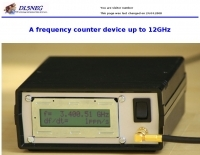 12GHz frequency meter
