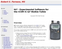 tk7 Software for the ICOM IC-Q7
