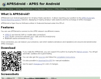 aprsdroid APRS for android