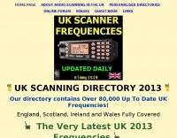 UK Scanner Frequencies