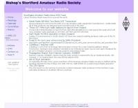 Bishops Stortford Amateur Radio Society