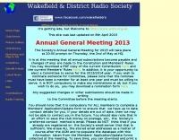 Wakefield & District Radio Society