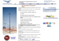 K4KIO - Broadband Hexagonal Beam Antenna
