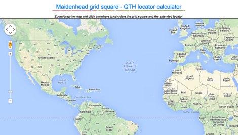 Online Locator Database