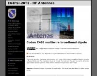Codan C463 multiband antenna