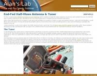 End-Fed Half-Wave Antenna & Tuner
