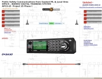 Michigan Police Radio Scanner